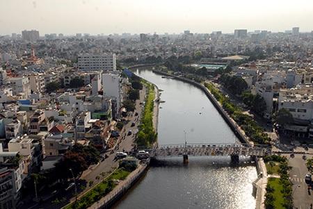 Dòng kênh Nhiêu Lộc - Thị Nghè hồi sinh và trở nên thơ mộng