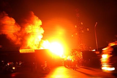Theo thông tin ban đầu, vụ cháy xảy ra vào k