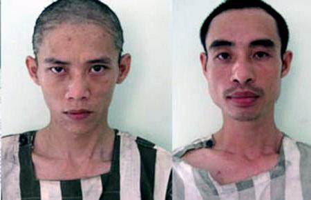 Hai đối tượng chuyên cung cấp ma túy cho con nghiện bị bắt tại cơ quan công an