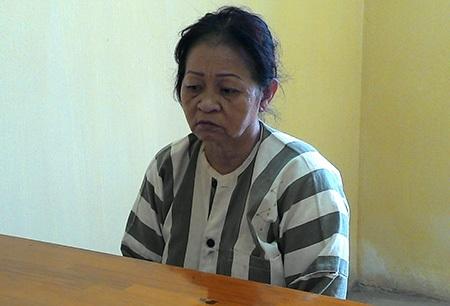 Nữ quái Đinh Thị Thu bị bắt tại cơ quan công an quận 11