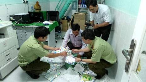 Lực lượng QLTT kiểm tra một điểm sản xuất MBH và phát hiện hàng loạt sai phạm