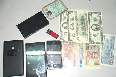 Tang vật vụ trộm được thu giữ