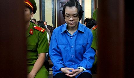 Trong phiên tòa phúc thẩm Huyền Như không kháng cáo nên không nói lời sau cùng