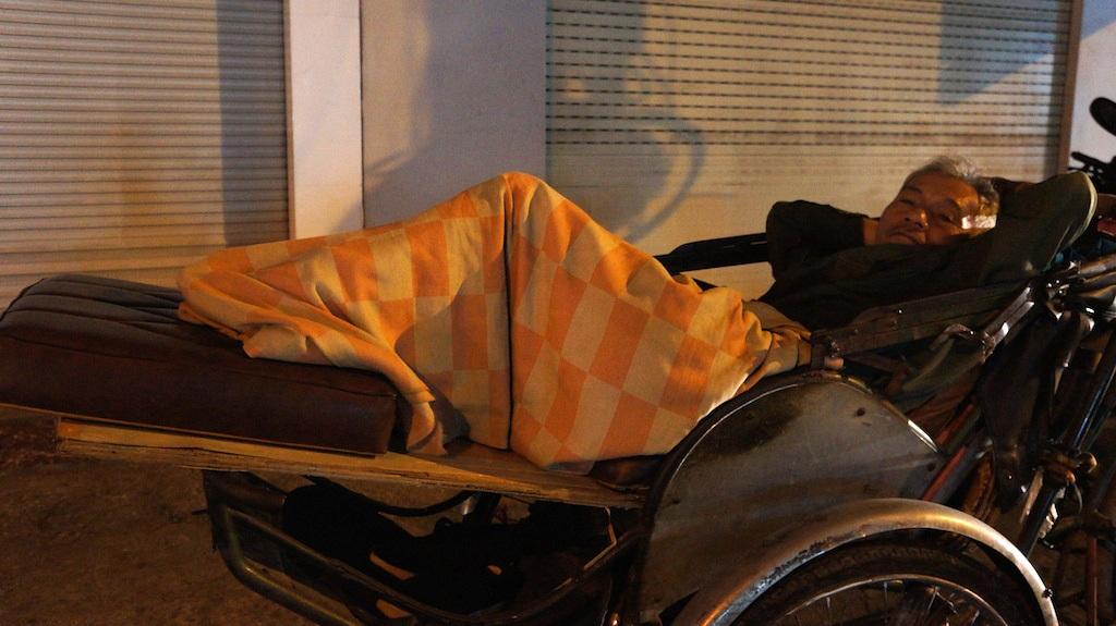 Giấc ngủ không trọn vẹn của một người vô gia cư