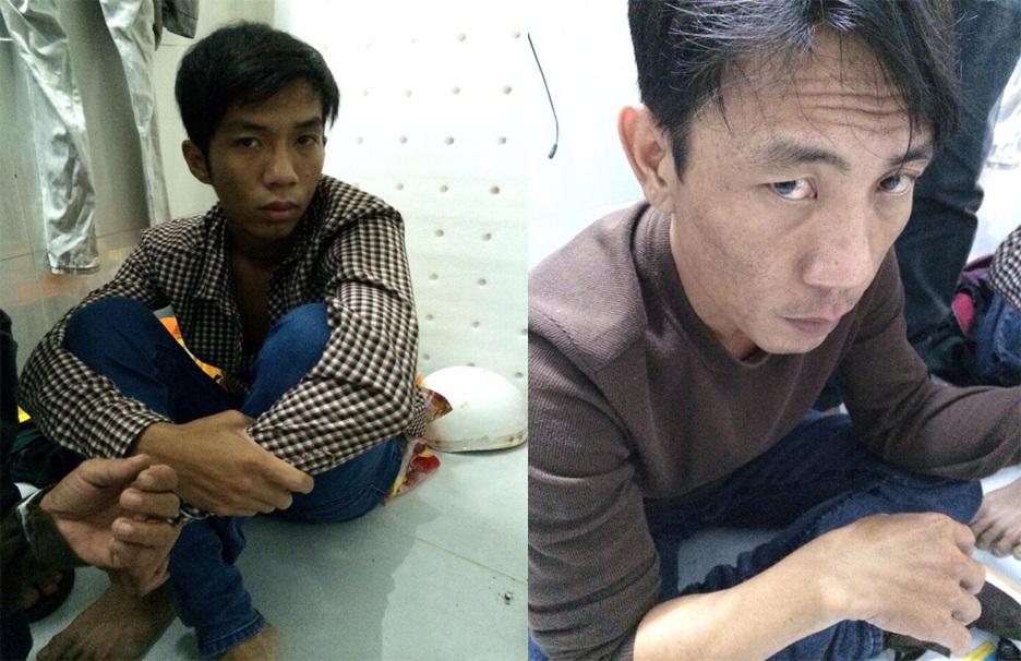 Hai đối tượng cầm đầu đường dây mua bán ma túy bị công an thị xã Thuận An bắt giữ