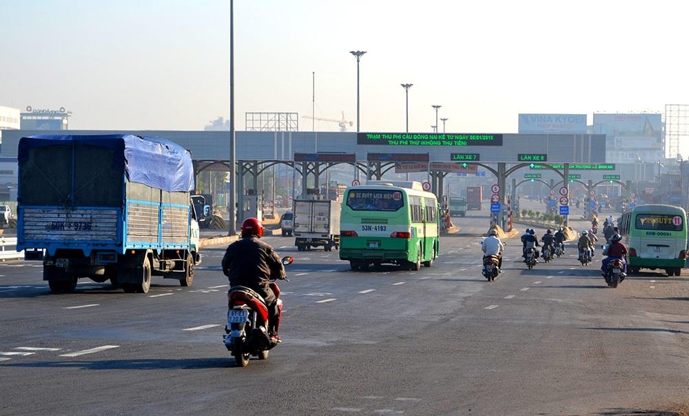 Trạm thu phí cầu Đồng Nai mới chính thức hoạt động