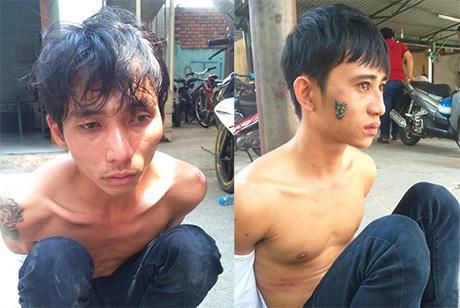 Hai tên trộm bị bắt nóng khi vừa trộm xe
