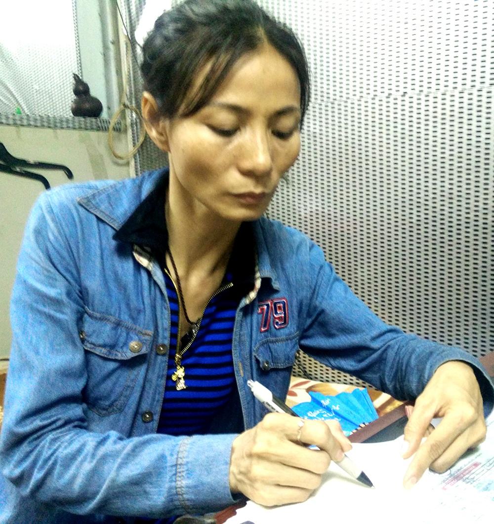 Bà Ngọt cũng đang chờ các giấy tờ chứng minh số tiền 5 triệu yên từ người chồng ngoại quốc