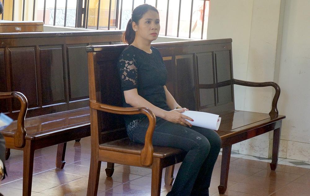 Vợ Thiếu tá Trần Ngọc Sơn cũng có mặt