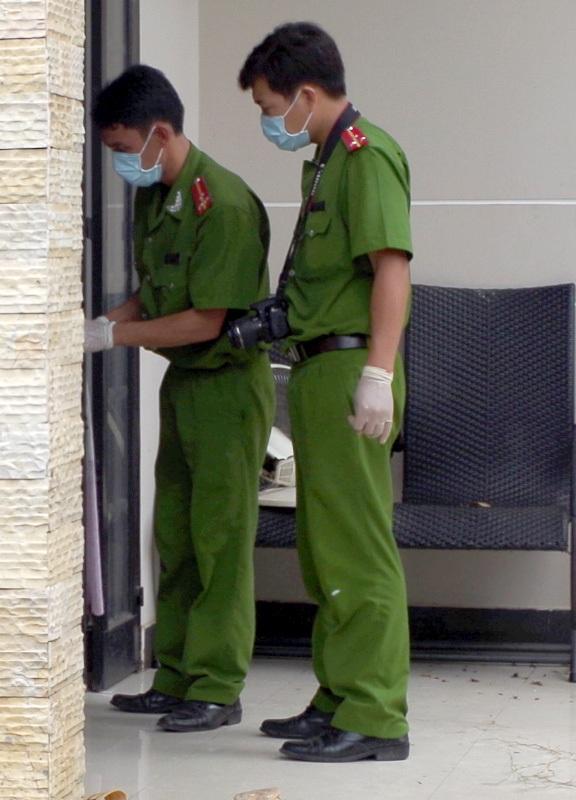 Cơ quan điều tra khám nghiệm hiện trường