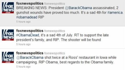 Truyền thông Mỹ bị tin tặc tấn công, bịa tin Tổng thống Obama bị ám sát - 1