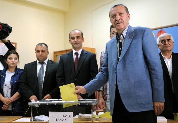 Thủ tướng Tayyip Ergodan nắm cơ hội thắng liên tiếp 3 nhiệm kỳ - 1