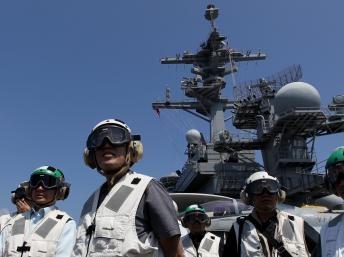 Trung Quốc phản ứng với cuộc tập trận Mỹ-Philippines trên Biển Đông - 1