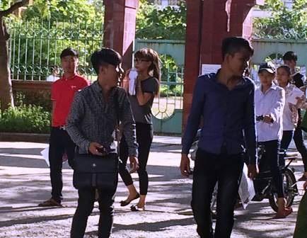 Tại Hà Nam chỉ có 264 thí sinh đăng dự thi môn Vật Lý (ảnh Đức Văn)