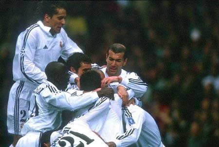 Đội hình tiêu biểu xuyên suốt lịch sử Real Madrid