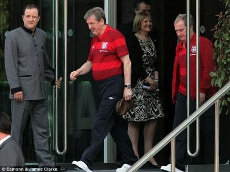 Đội tuyển Anh bắt đầu hội quân tại Manchester