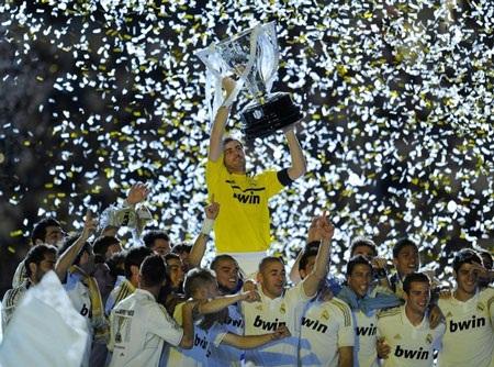 Real Madrid đã lật đỗ được sự thống trị của đại kình địch Barcelona