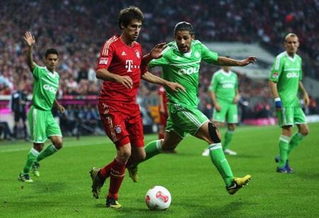 Bayern Munich hoàn toàn lấn lướt Wolfsburg