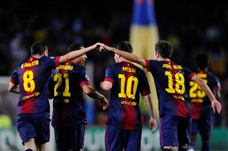 Barcelona đang thăng hoa với tân HLV Tito Vilanova