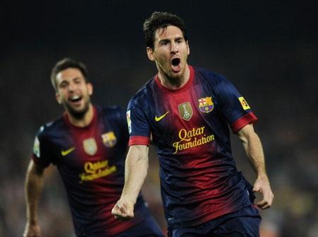 Xô đổ và thiết lập những kỷ lục mới dường như đã trở thành thói quen của Messi