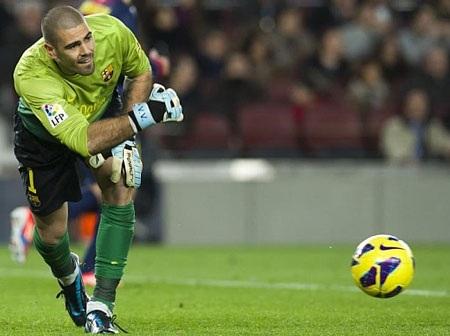 Valdes không muốn gắn bó trọn vẹn sự nghiệp tại Barcelona