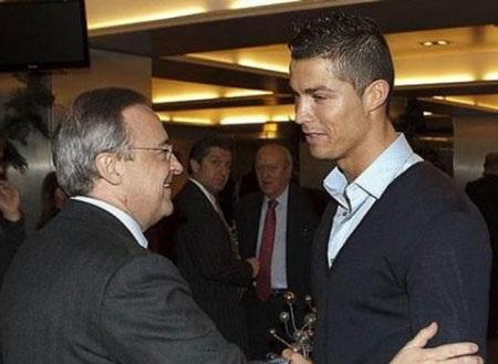 Perez và C.Ronaldo đã có thể ngồi lại với nhau