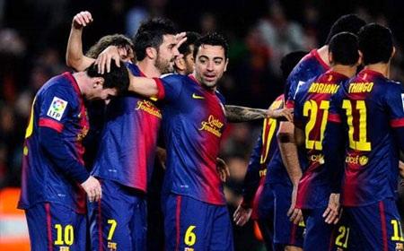Barcelona vẫn tiếp tục thăng hoa với