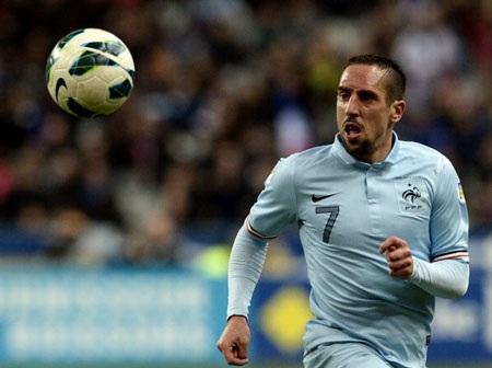 Ribery cũng như nhiều ngôi sao khác không thể khỏa lấp được khoảng trống Zidane để lại