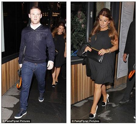 Rooney và Coleen