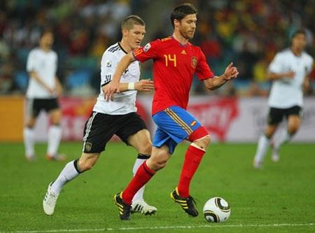 Người Đức đã không còn chạy sau người Tây Ban Nha trong bóng đá