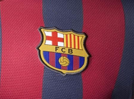 Logo của đội bóng trên ngực áo.