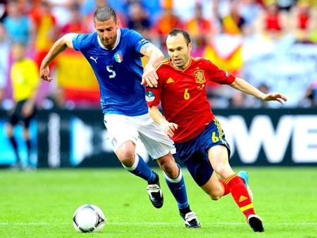 Tây Ban Nha và Italia tái ngộ tại Confed Cup
