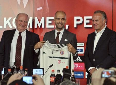 Triều đại Guardiola chính thức bắt đầu tại Bayern Munich