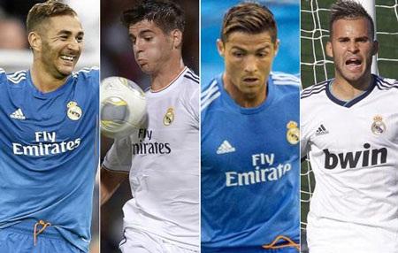 Những cầu thủ có thể đá trung phong trong tay Ancelotti vào thời điểm hiện tại