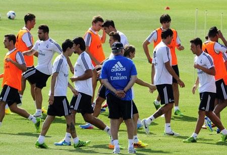 Những cựu binh của Real Madrid.