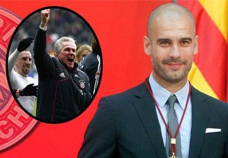 Guardiola với nhiệm vụ kế thừa và phát triển gia tài vĩ đại của Heynckes