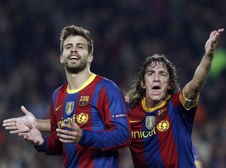 Sau cặp Pique-Puyol, Barcelona lại lao đao vì vị trí trung vệ