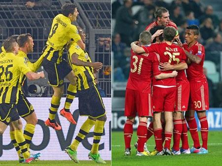 Bundesliga là giải đấu có hiệu suất ghi bàn cao nhất