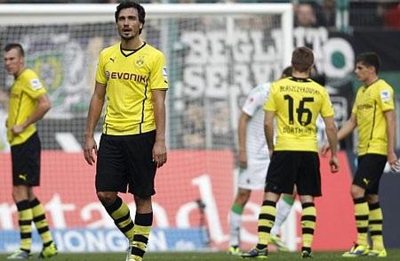Tấn công nhiều mà không ghi được bàn thắng, Dortmund đã phải trả giá