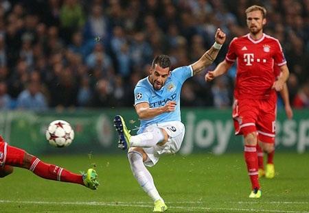 Những phút vùng lên cuối trận của Manchester City chỉ đủ để họ kiếm được bàn thắng danh dự