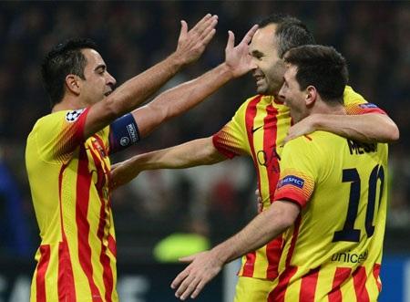 Messi bình chọn cho những người đồng đội của mình tại Barca