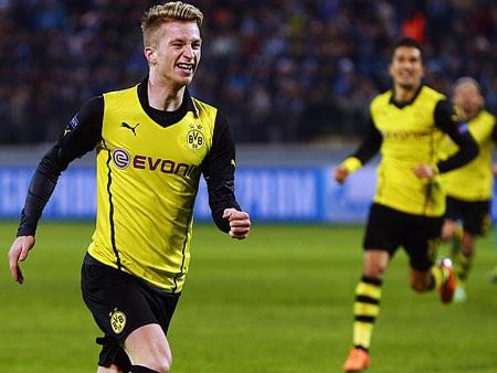 Trở lại đấu trường danh giá nhất châu Âu, Dortmund lập tức bùng nổ