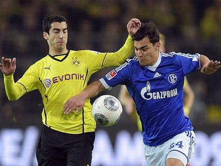 Trận derby vùng Ruhr kết thúc với tỉ số hòa 0-0
