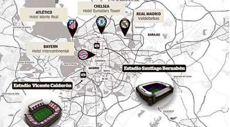 Madrid sẽ là trung tâm của bóng đá châu Âu