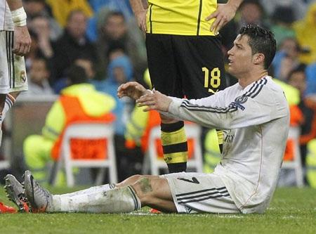 C.Ronaldo dính chấn thương vào thời điểm nhạy cảm của mùa giải