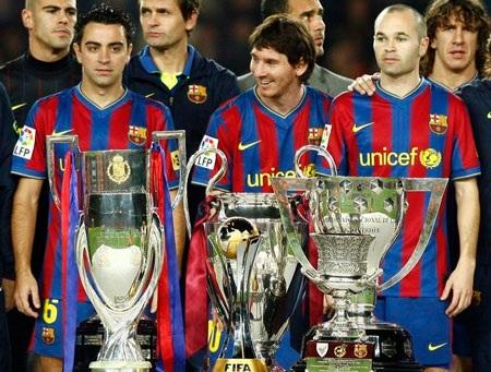 Tam tấu Messi-Xavi-Iniesta vẫn là những cầu thủ không thể thay thế
