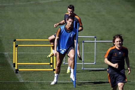 Ronaldo đã sẵn sàng cho trận chiến với Dortmund