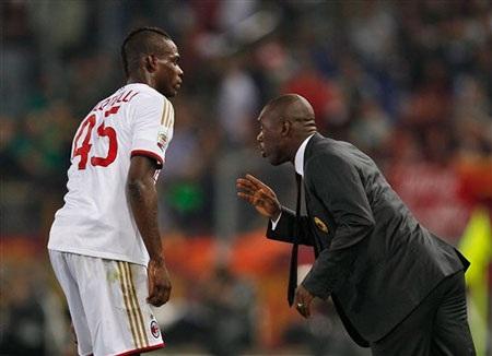 Balotelli không hài lòng với quyết định cảu HLV Seedorf