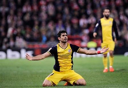 Mất Costa sẽ là tổn thất rất lớn đối với Atletico