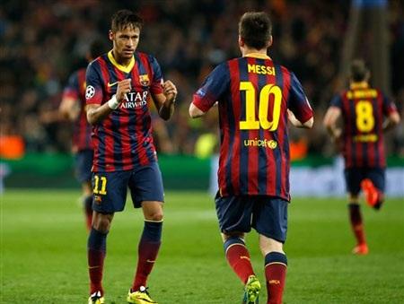 Neymar tin rằng Messi là giải pháp chứ không phải vấn đề của của Barca